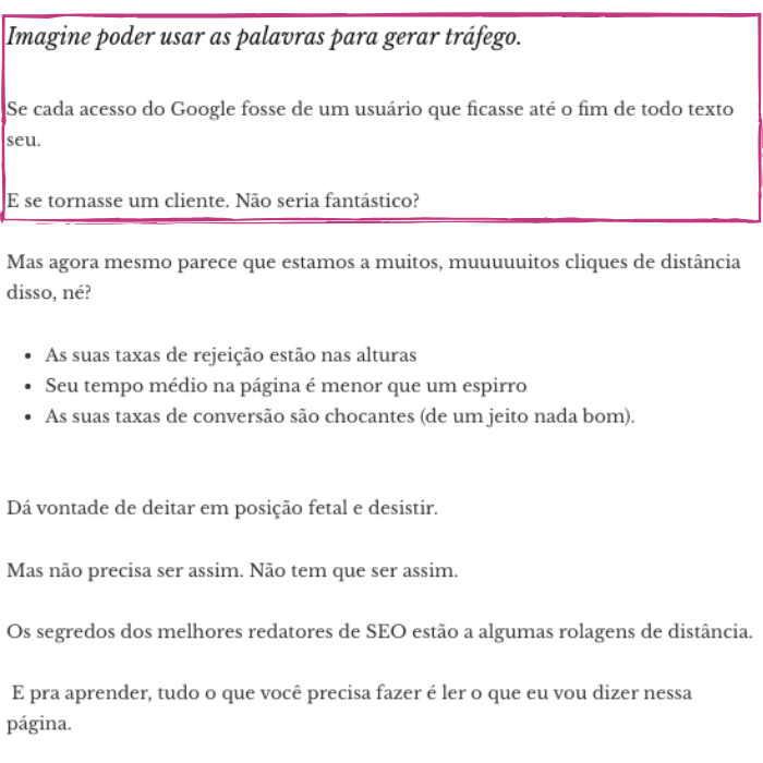 técnica intro copywriting 1